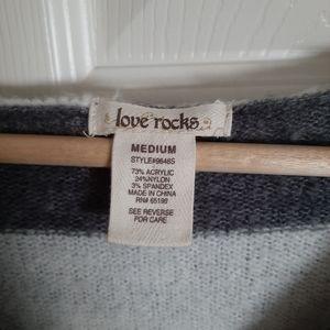Love Rocks Tops - 3/$30-Striped Whool Sweater